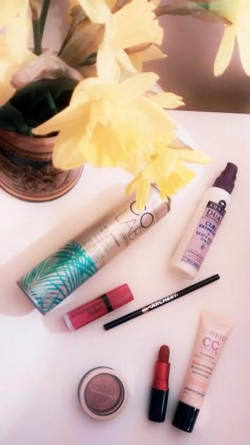 colab aussie drugstore makeup