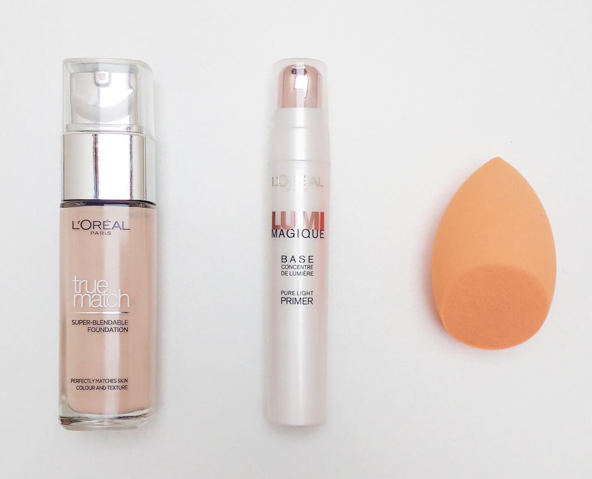 spring makeup base